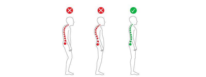 BBoa postura ajuda a massagem